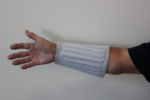 Wrist Guards 345mm Wide Cotton Lined