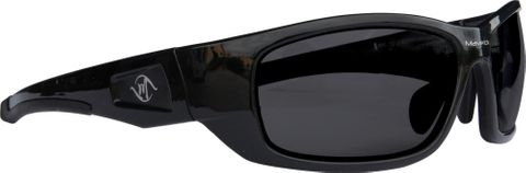 Maverick Glasses Black Frame Dark Lens