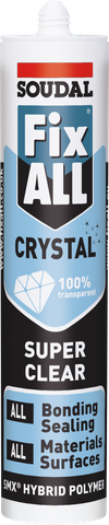 Soudal Fixall Crystal Clear 290ml