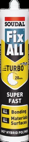 Soudal Fixall Turbo White 290ml
