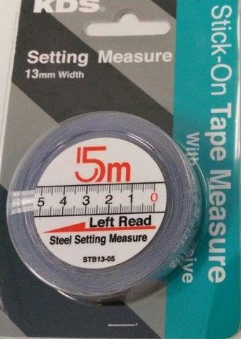 5M Left Read Flat Tape Self Adhesive