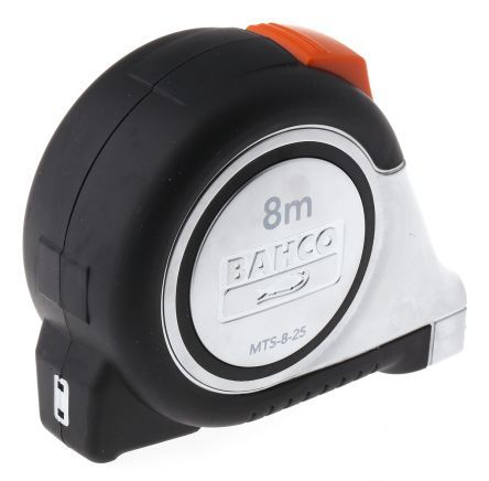 8M Bahco Stainless Blade Tape Measure