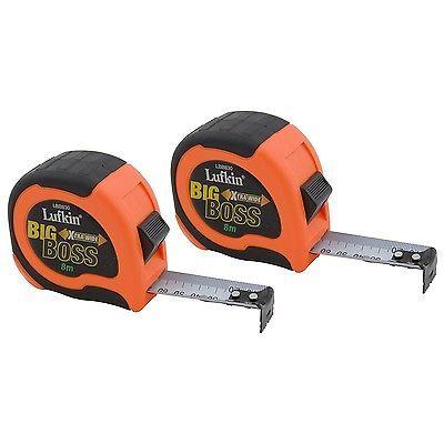 8M Lufkin Big Boss Tape Measure 30mm BL.