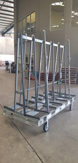 D/S A Frame Trolley Galvanised 1.7H