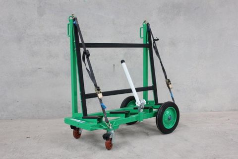 2 Bar H/D Slab Trolley S/W 525kg Black