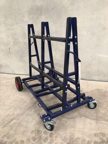 OSA Dark Blue D/Sided Trolley 600kg WLL