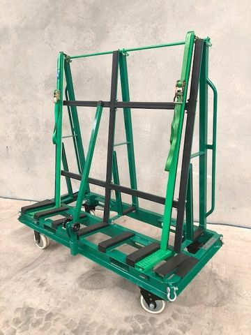 Slim Line Trolley S/Sided  B/Bars 2000kg