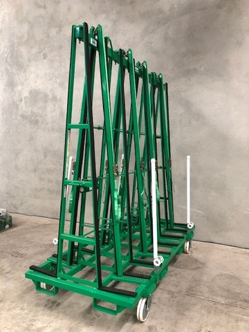D/S A Frame Glass Max WLL Trolley