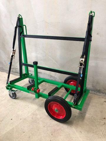 2 Bar Smart Slab Trolley S/W 525kg Black
