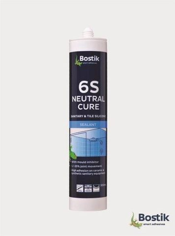 Bostik 6S Anti Mould Silicone Cartridge