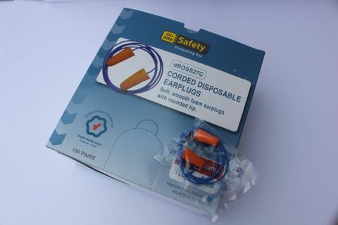 Ear Plugs Corded Box 100