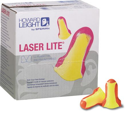 Ear Plugs Uncorded Laser Lite 200pr BOX