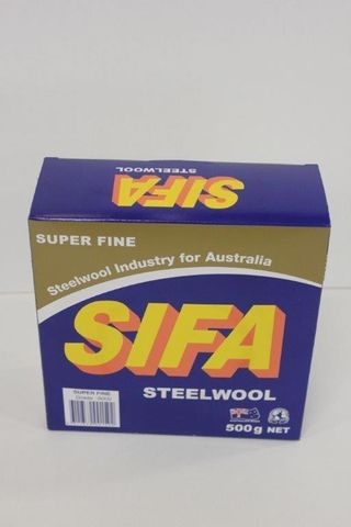 500g SIFA SteelWool Super Fine 0000