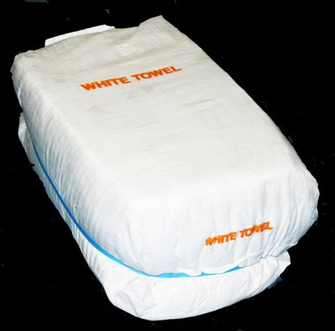 White Toweling Rags 10kg Bag