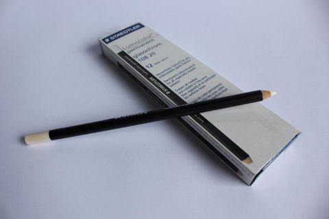Pencils Chinagraph White 108 20-0 PKT12