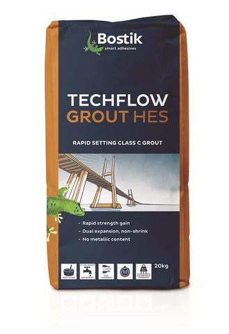 N/S Grout Techflow HES Rapid Cure 20kg