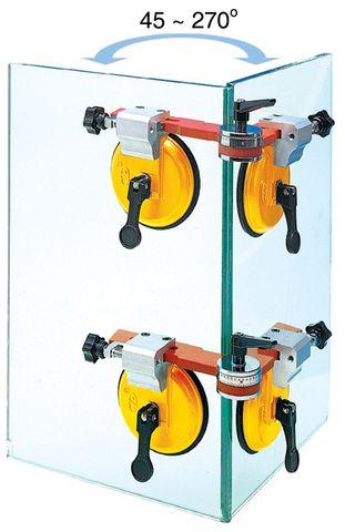 KM 2 Cup Adj Metal Vacuum Holder