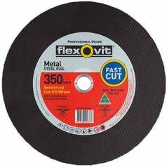 350MMX3.8X25.4 FLEXOVIT CUTOFF DISC