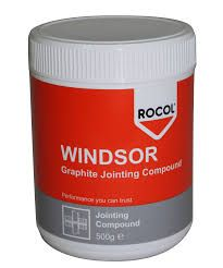 ROCOL WINDSOR GRAPHITE PIPE JOINT COMPOUND 500gr