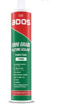ADOS FOOD GRADE SEALANT WHITE 300GM - HSR002670