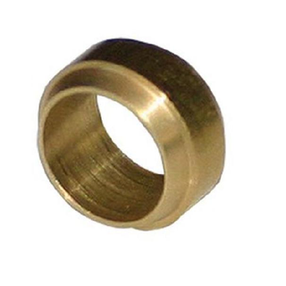 BRASS/F COMPRESSION SLEEVE FOR NYLON 1/4''