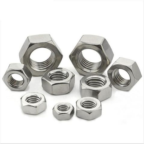 STAINLESS STEEL HEX NUT 1/4 UNC