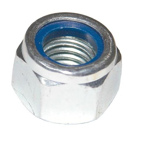 STAINLESS STEEL HEX NYLOC NUT 1/4 UNC