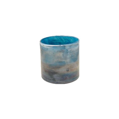 LUSTRE BLUE VOTIVE - SMALL