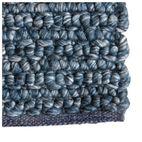 REGALO BLUE WOOL HANDWOVEN RUG 235x170cm