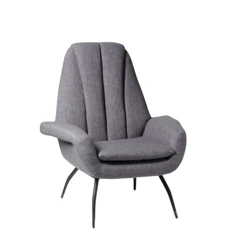MARC OCCASIONAL CHAIR in SMOKE