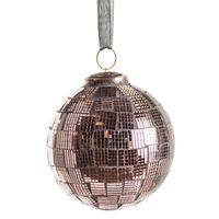 ROSE MOSAIC BALL DECORATION D8cm