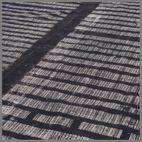 COTTON PRINTED BLK/NATURAL RUG 240x170cm