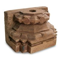 XLARGE OLD INDIAN WOODEN PILLAR-ASSORTED