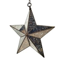 LARGE HANGING CHRISTMAS STAR LIGHT 70c