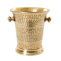 CHAMPAGNE/WINE BUCKET in BRASS FINISH