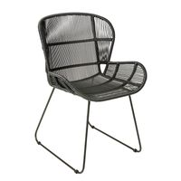 AZUL BLACK OUTDOOR DINING CHAIR