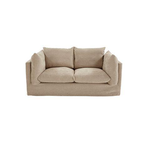 ##ELLA OATMEAL SOFA - 2 SEAT