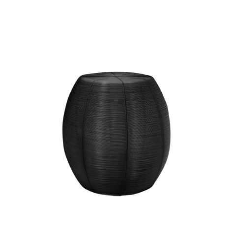 BLACK WIRE STOOL / SIDE TABLE
