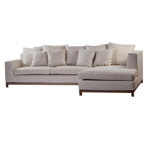 BAILEY IVORY SOFA - RHS | COVER ONLY