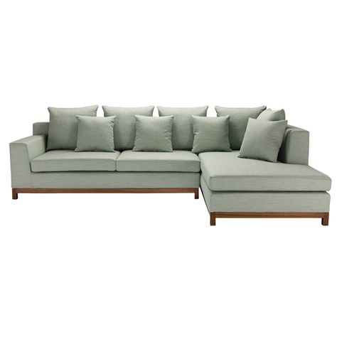 BAILEY SOFA COVER ONLY-COOL GREEN-RIGH