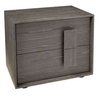 ##BRAY SMOKED OAK BEDSIDE-RIGHT HANDLE