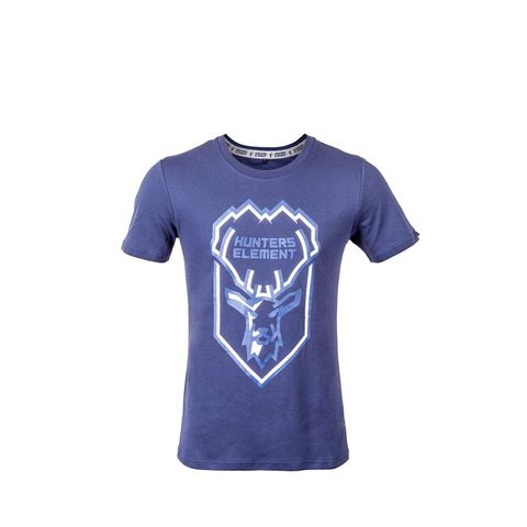 HUNTERS ELEMENT STAG TEE NAVY