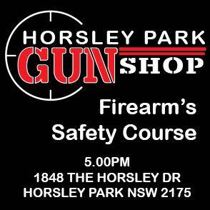 THURSDAY 1ST APRIL 5:00PM  SAFETY COURSE HORSLEY PARK