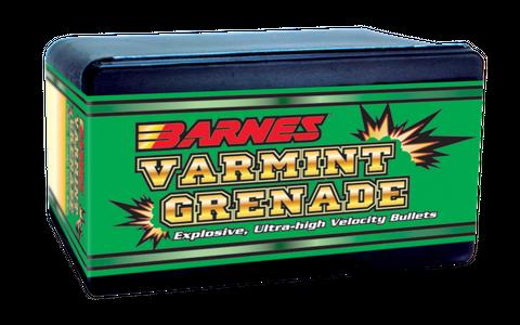 BARNES 22CAL .224 36GR VARMINT GRENADE FB PROJECTILES 250PK