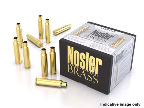 NOSLER CUSTOM BRASS 22-250 REM UNPRIMED CASES 50PK