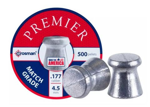 CROSMAN 177 MATCH AIR RIFLE PELLETS (500)