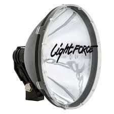 LIGHTFORCE 240 CUSTOM 55WATT HID SPOTLIGHT WITH ROOF BRACKET