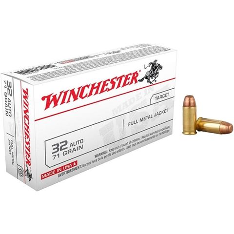 WINCHESTER USA VALUE PACK 32UTO 71GR FMJ 50PKT