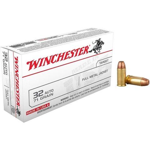WINCHESTER USA VALUE PACK 32UTO 71GR FMJ 50PKT