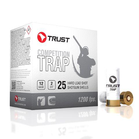 TRUST TRAP WHITE LINE 1200FPS 12GA 28GM 7.5 25PKT